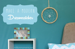 make a modern dream catcher