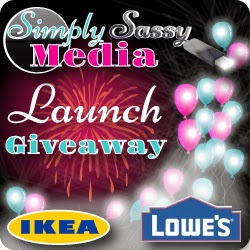 Simply Sassy Media Launch Giveaway!