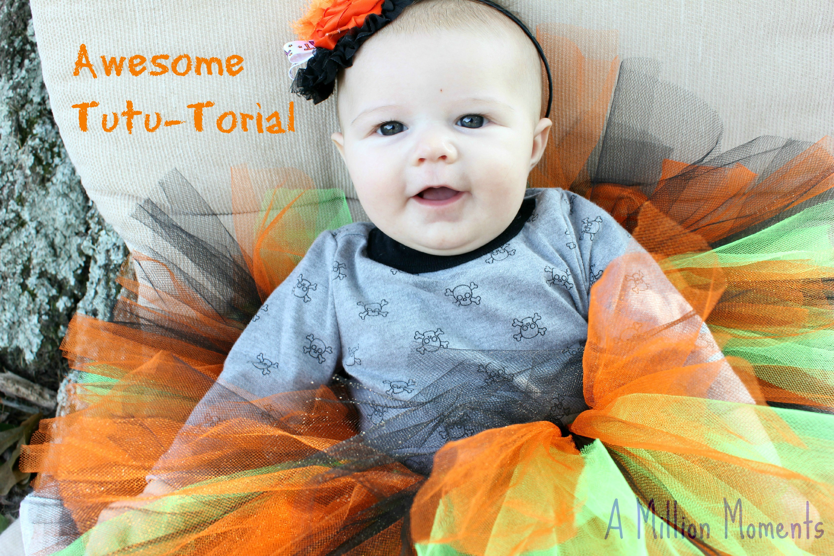 How To Make A Tutu (No Sew Tutorial)
