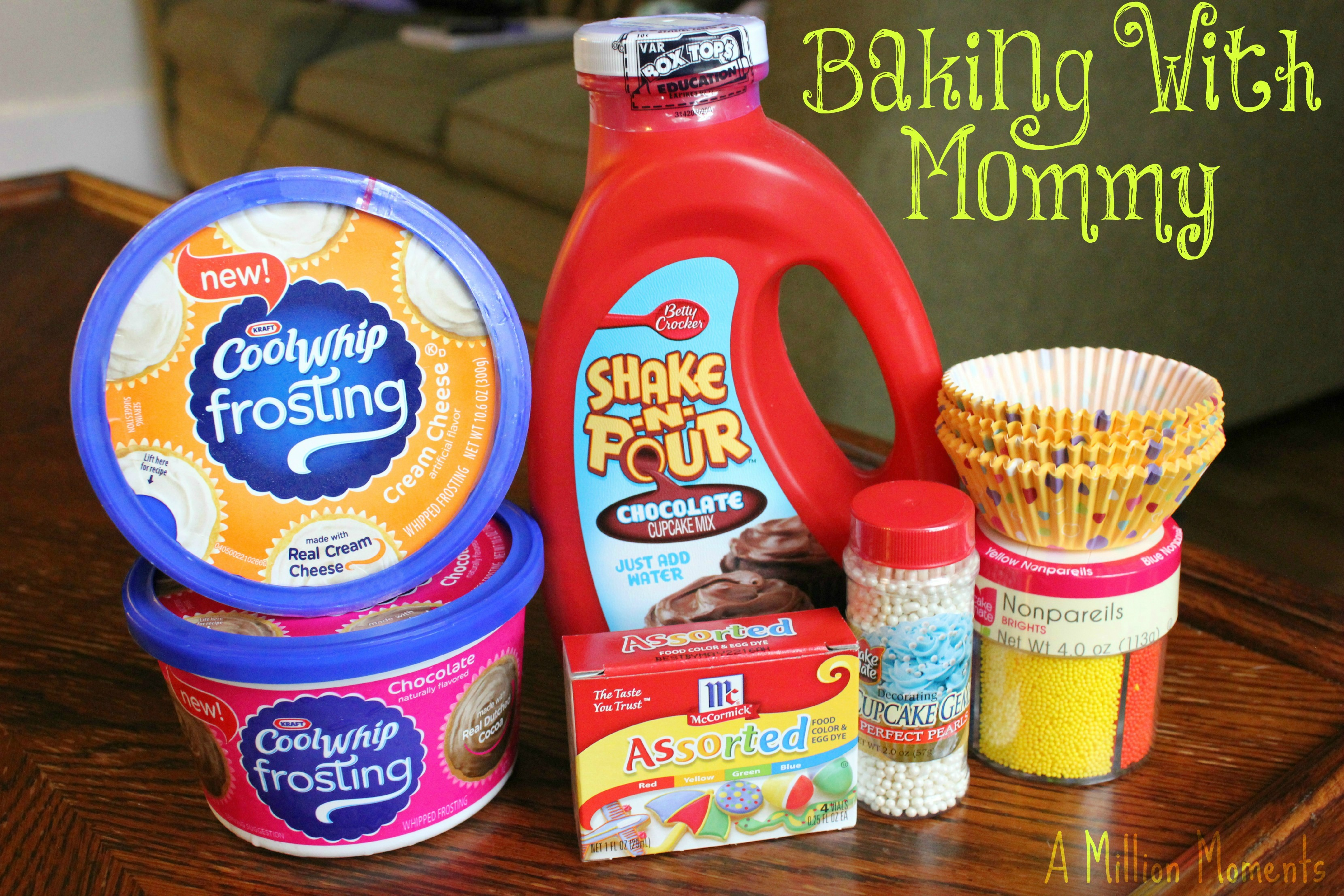 Baking With Mommy – Cool Whip Frosting