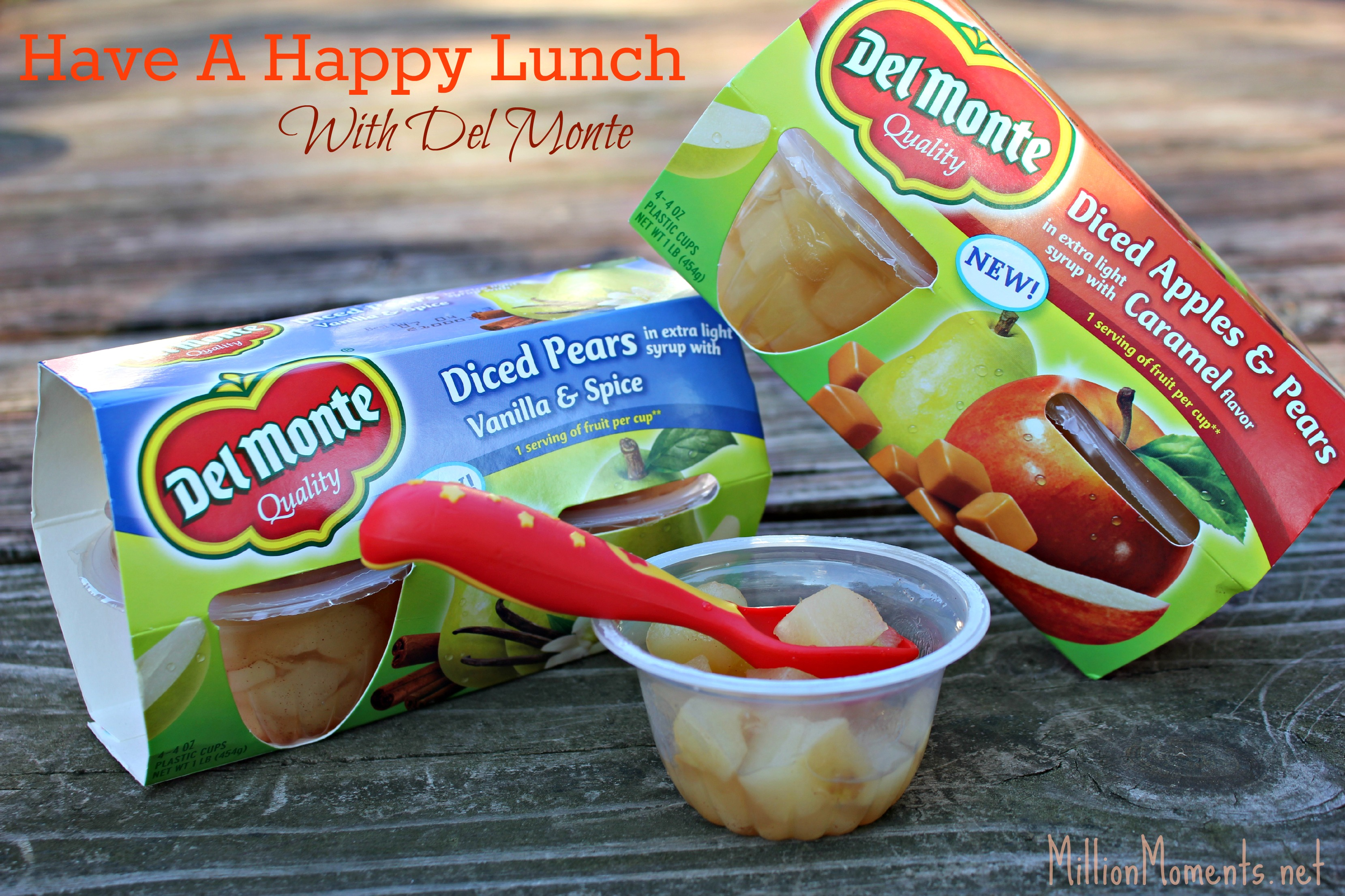 Have A Happy Lunch With Del Monte!