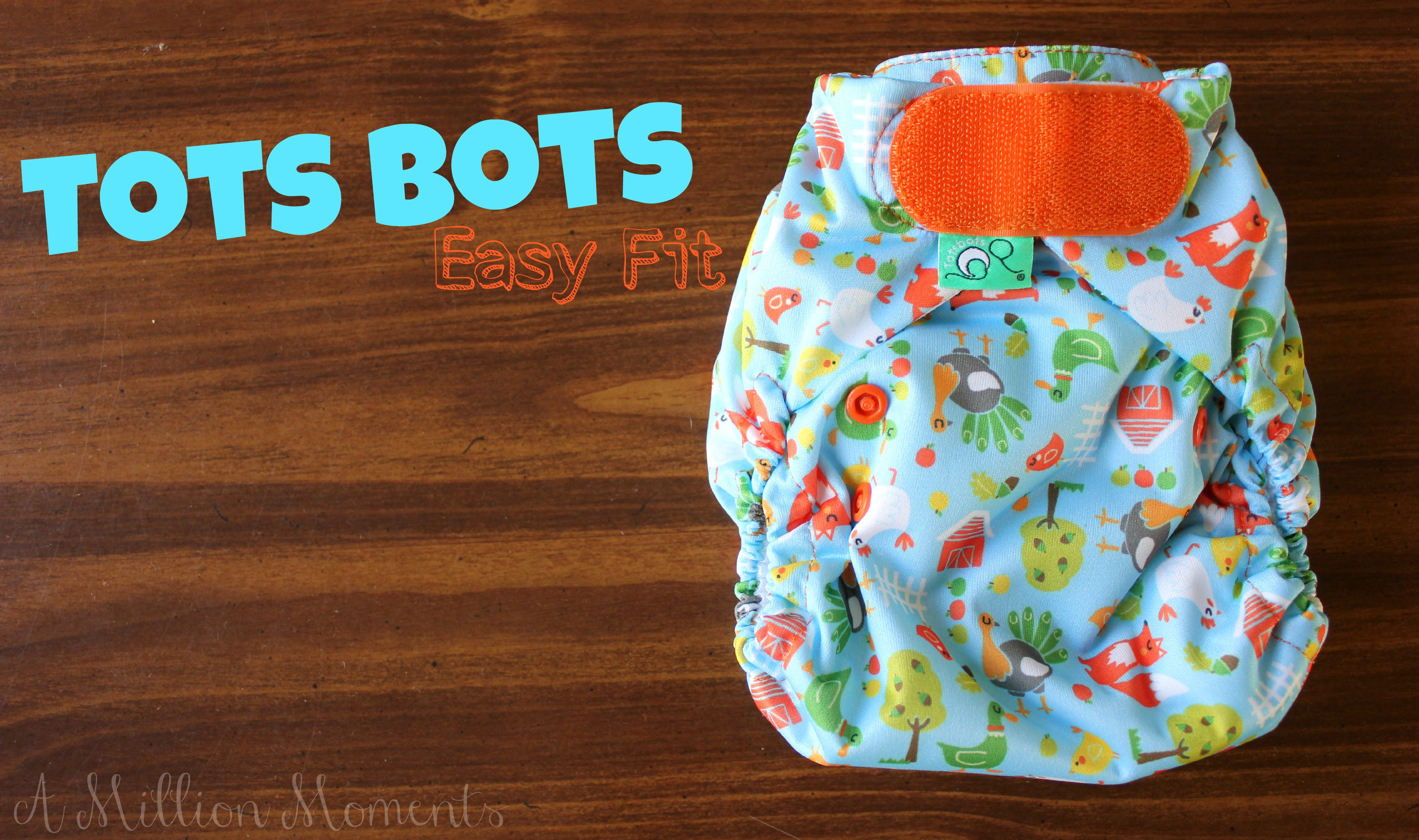 Tots Bots Easy Fit Cloth Diaper