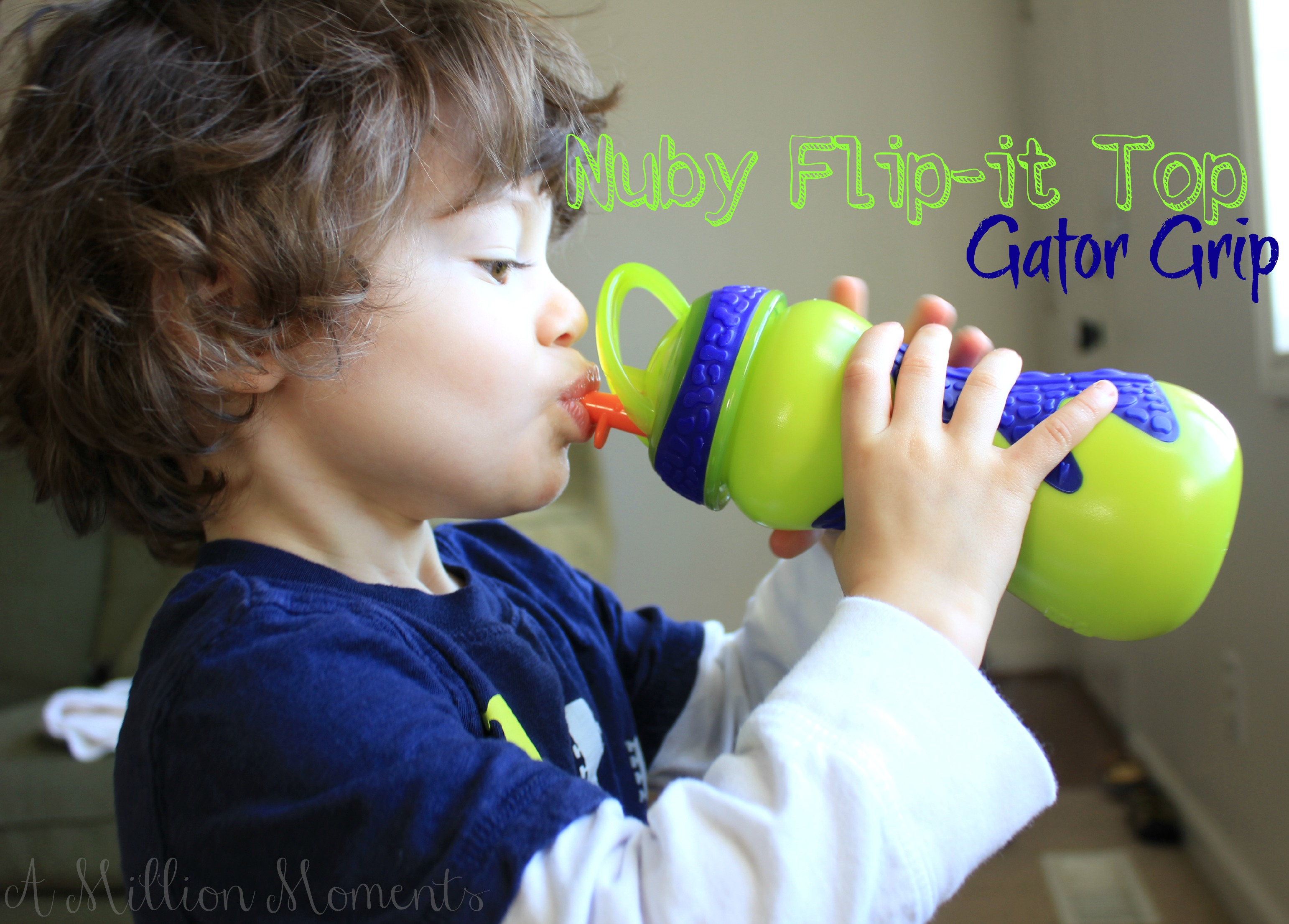 Nuby Flip-it Top Gator Grip