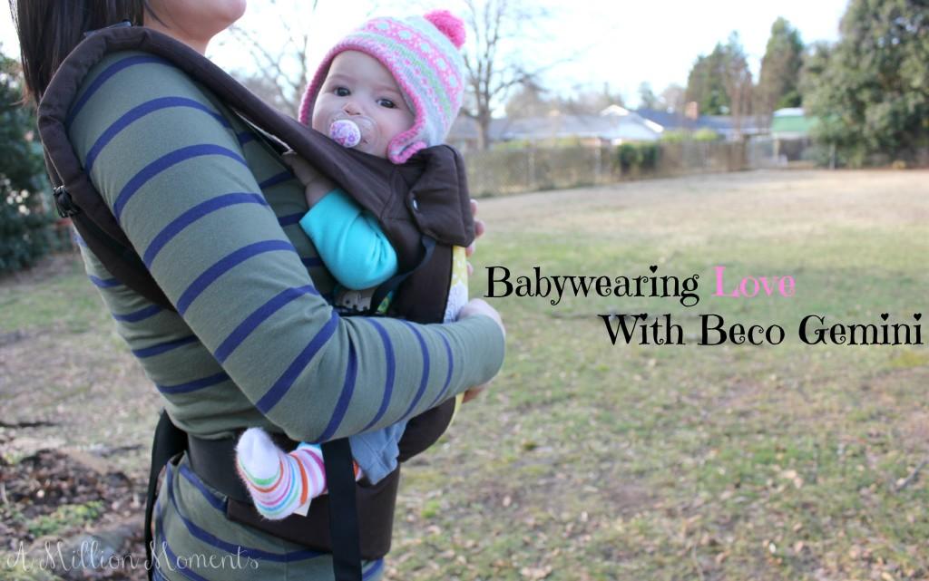7bc18613973 Babywearing Love With Beco Gemini