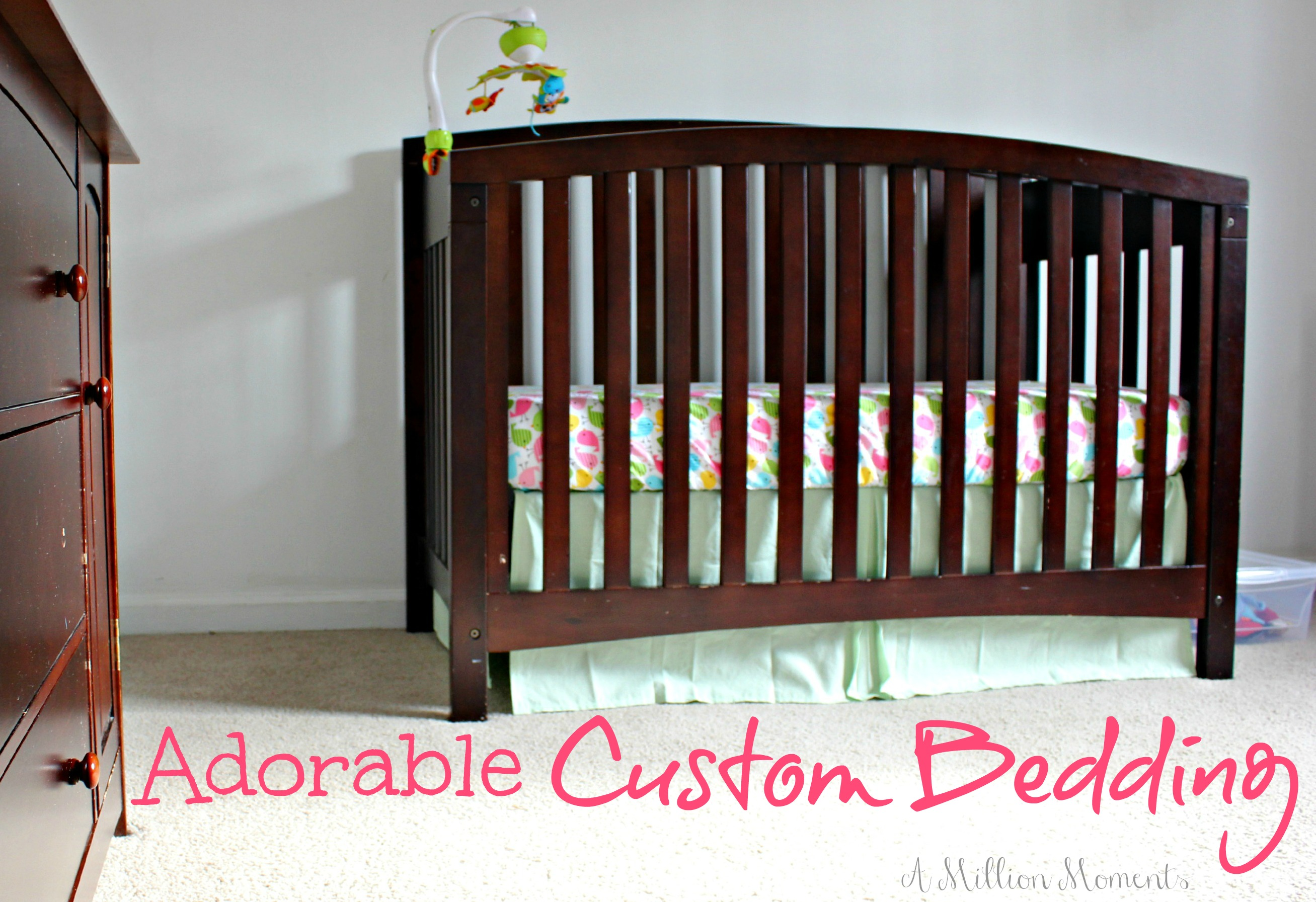 Custom Crib Bedding From Tigers Ties