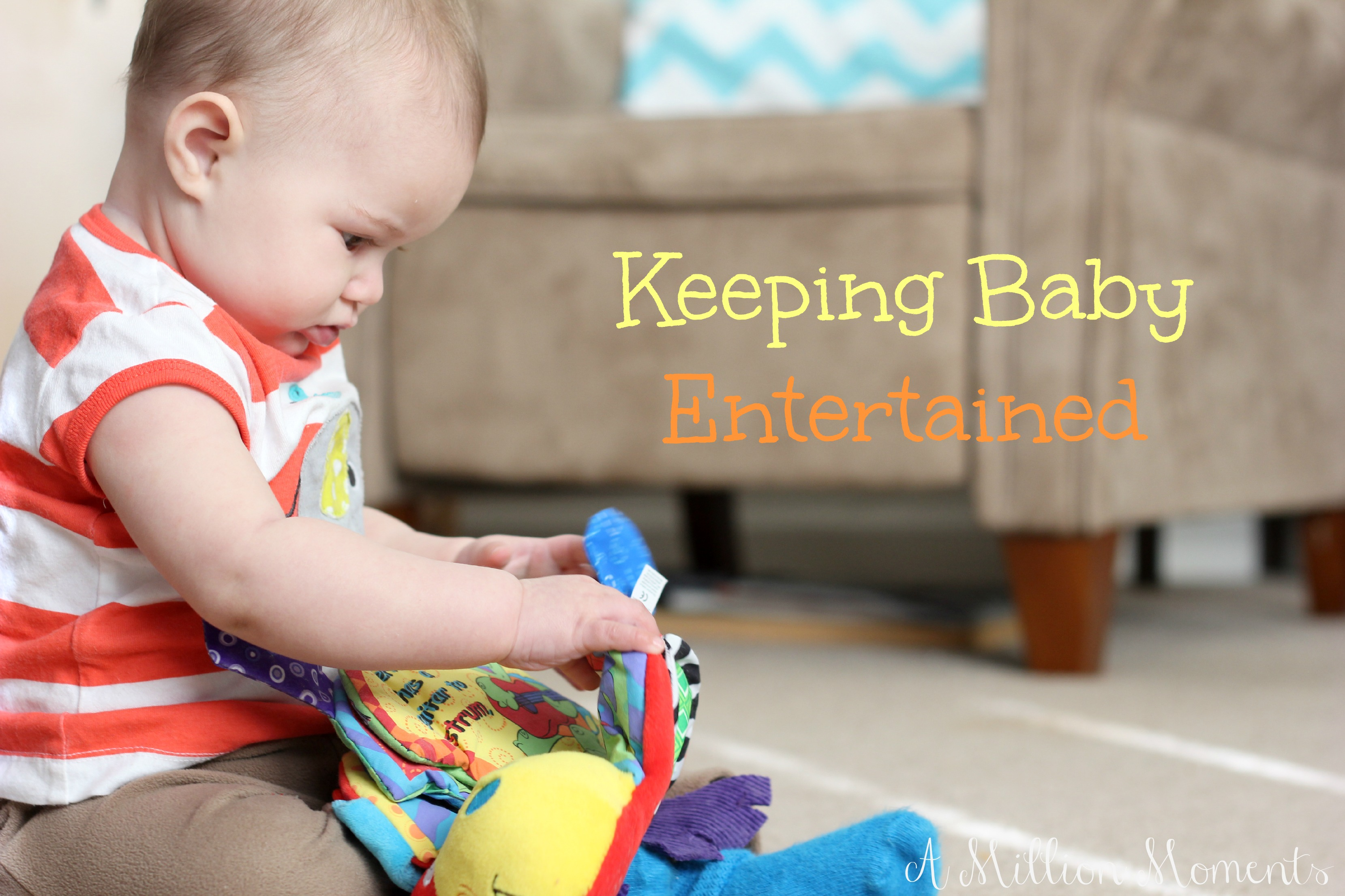 Keeping Baby Entertained – Nuby Flip Flop Teether Book