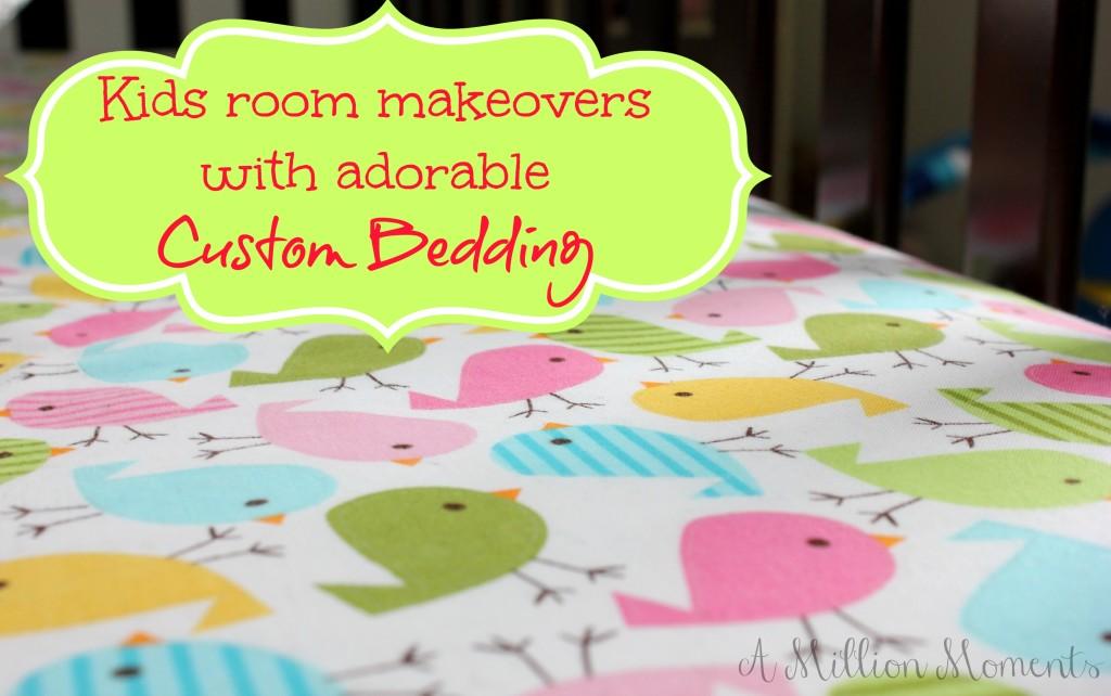 custom nursery bedding