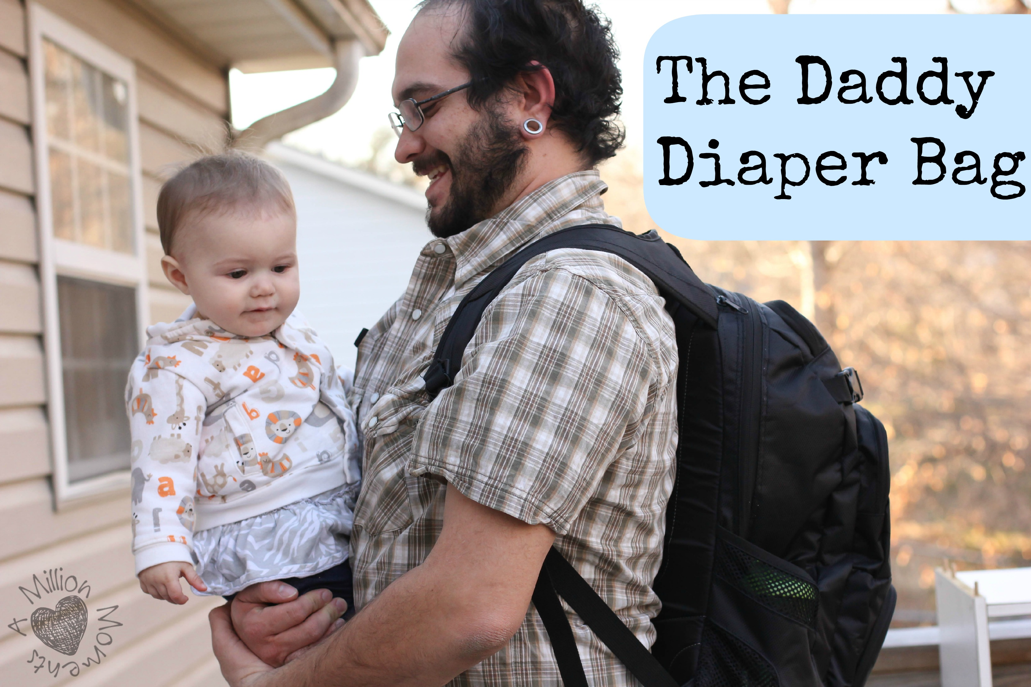 A Diaper Bag Your Man Will Love (Giveaway)