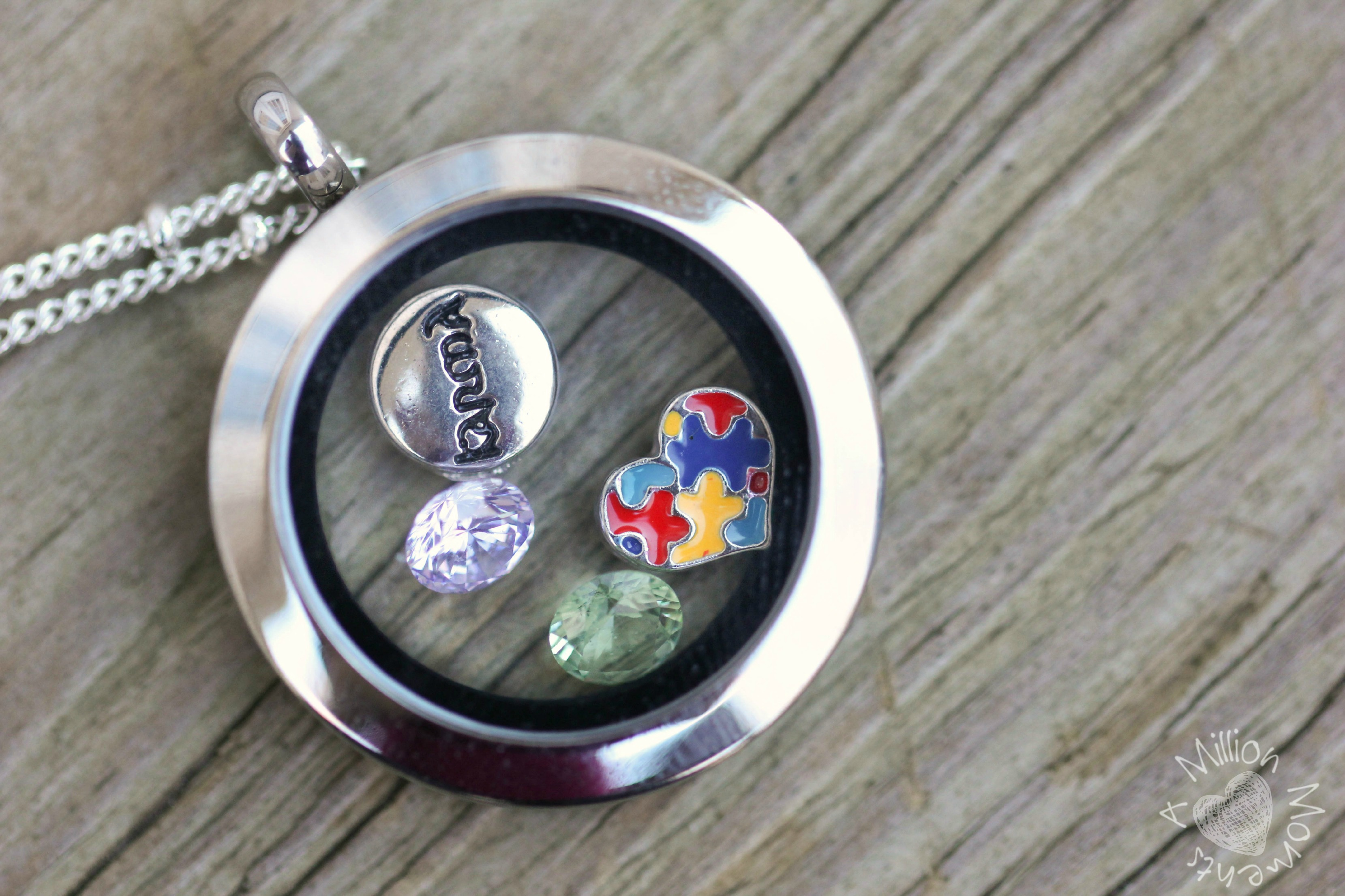 personalized remembered wid at things category lockets square locket classic engraved childrens