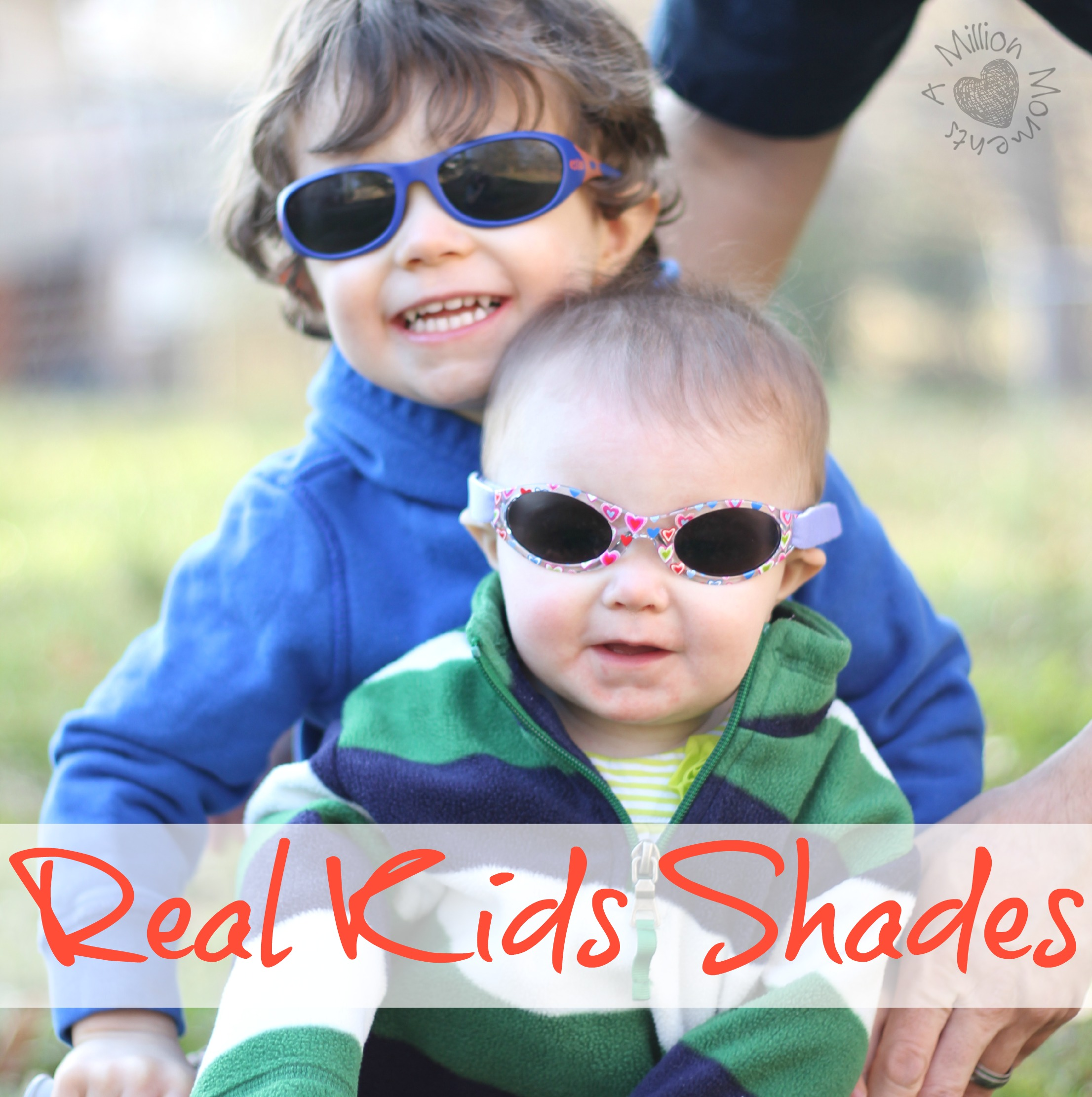 Choose the right sunglasses for your child with Real Kids Shades (Giveaway)