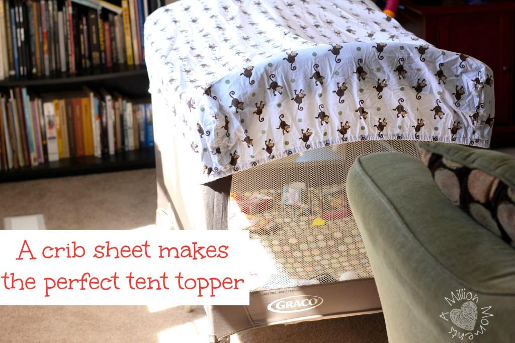 make a cute tent