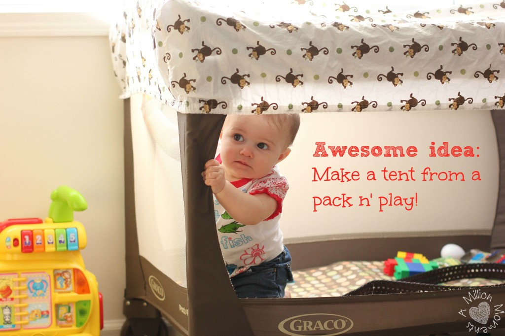 kids tent tutorial
