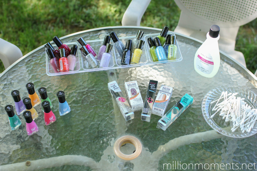 Sally Hansen nail art party