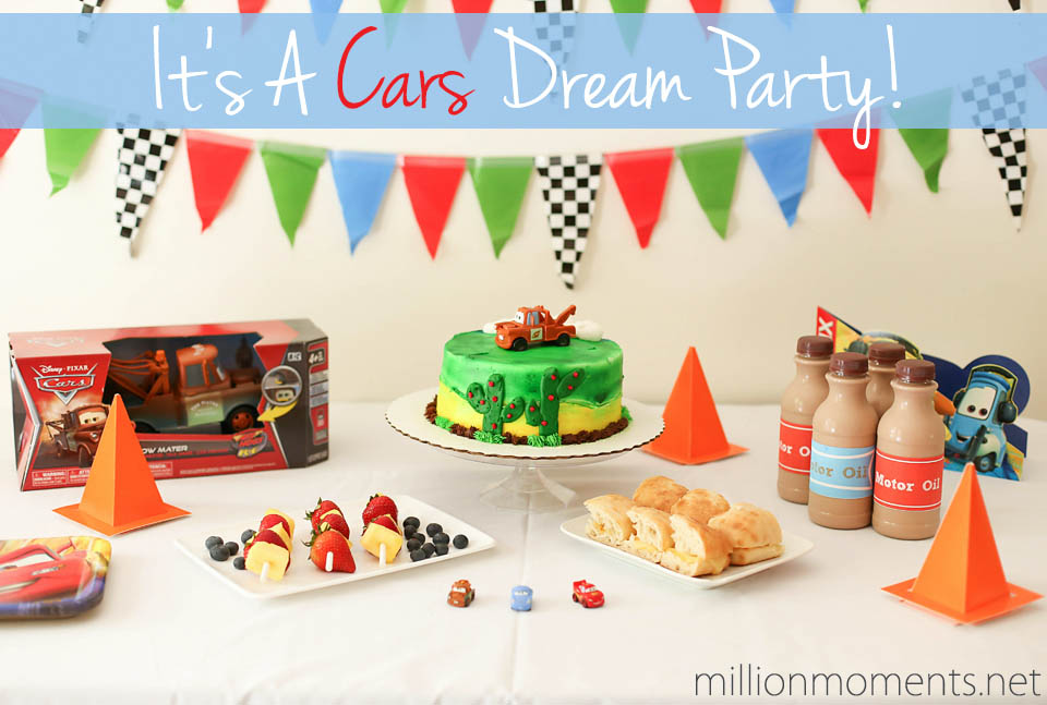 Cars themed party ideas