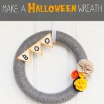 Make A Halloween Wreath