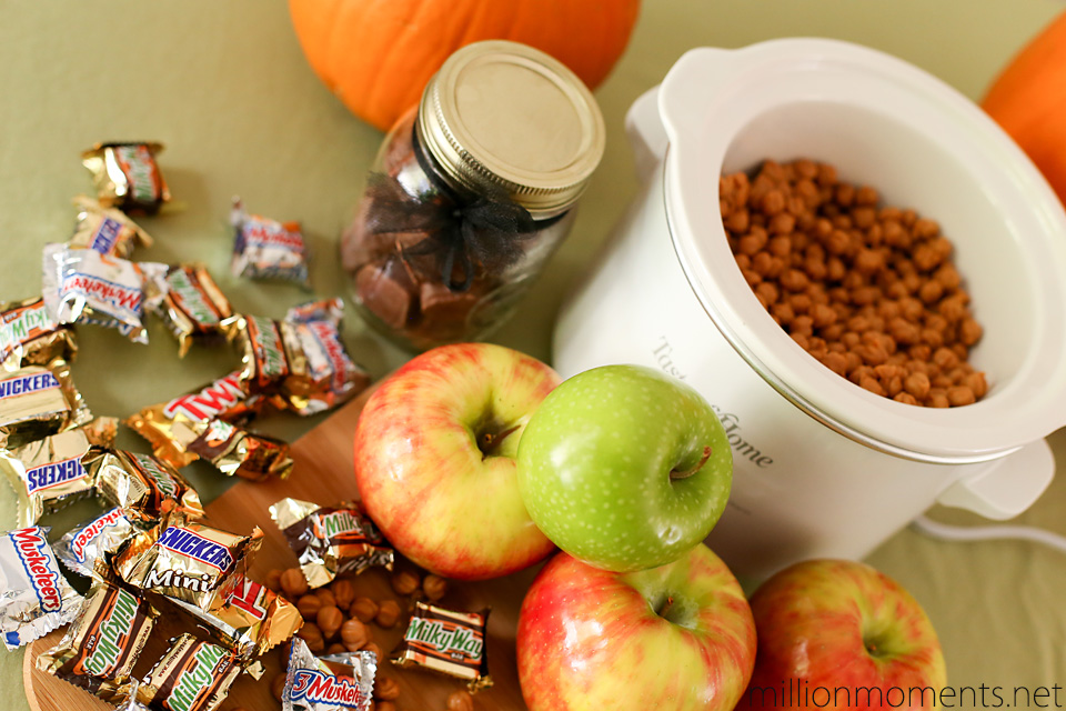 Halloween baking with apples #shop