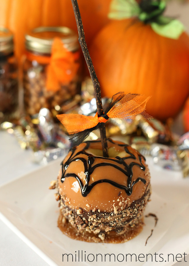 Halloween celebrations with candy apples #shop