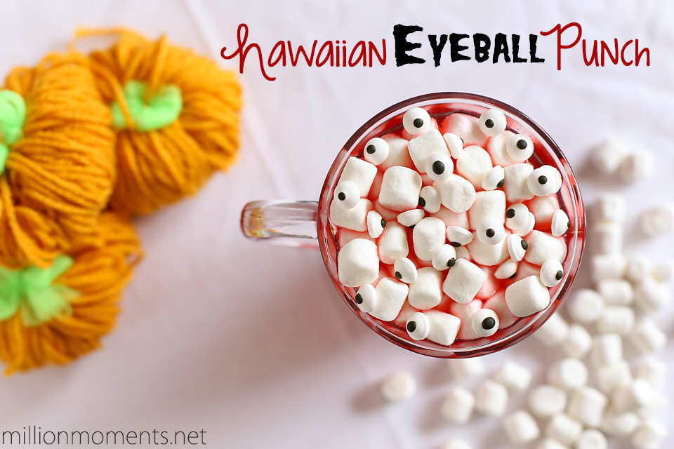 Hawaiian Punch and 7UP Halloween Drink Recipe #shop