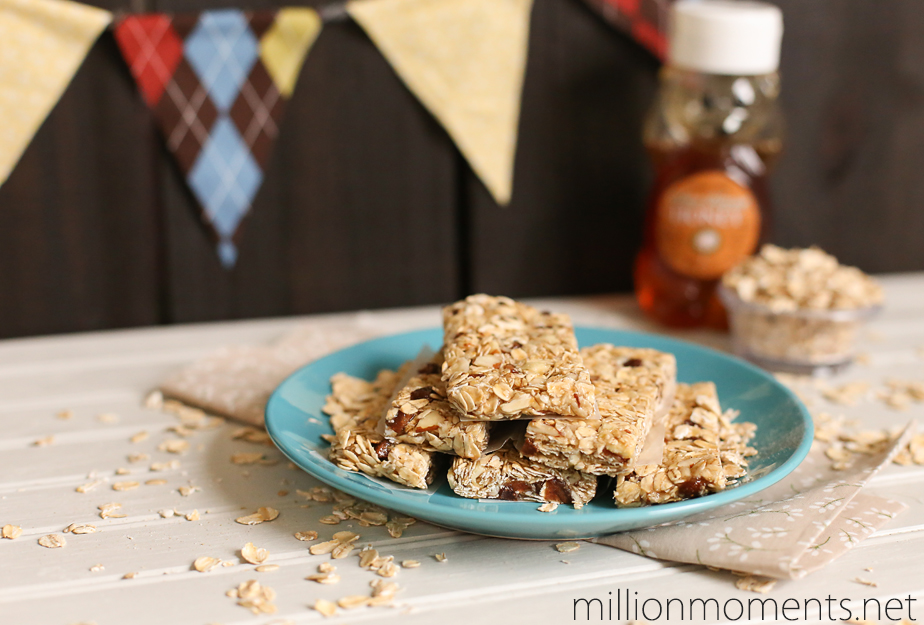 Easy granola bars for kids