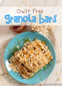 Guilt Free Granola Bars