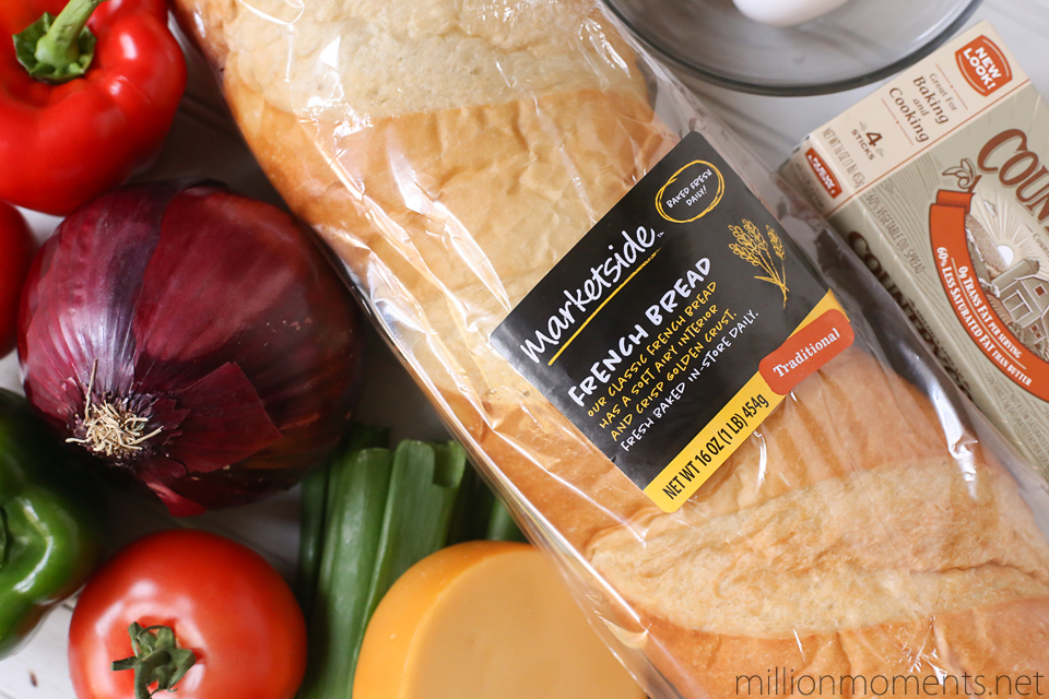 Marketside french bread breakfast sandwich #shop