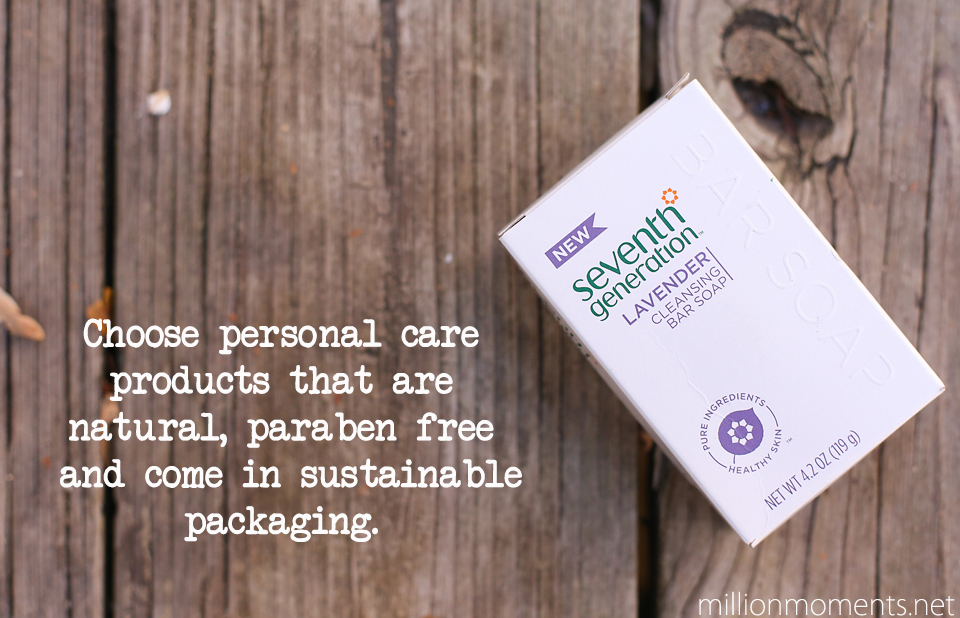 Seventh Generation body care products