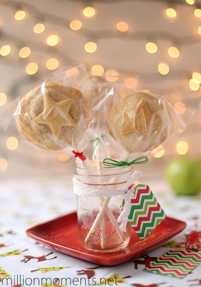 Apple Pie Pops with butter crust #HolidayBaking #Shop