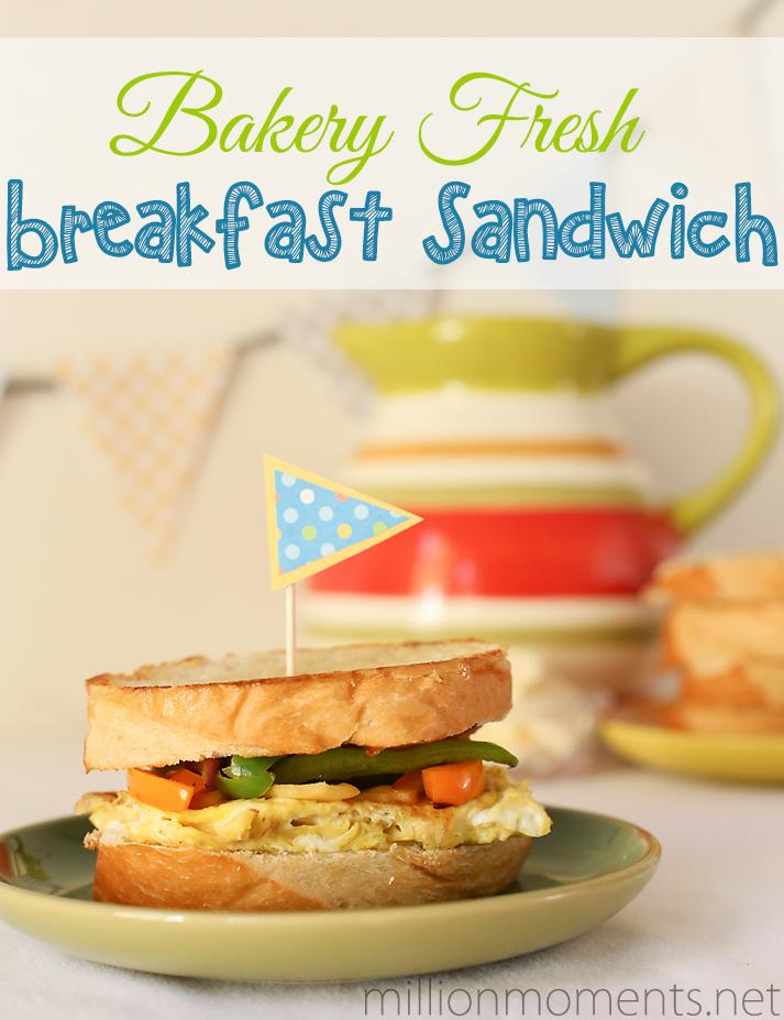 Marketside french bread breakfast sandwich #shop