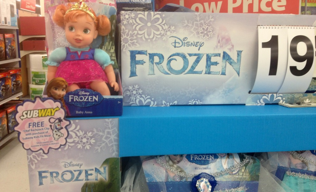 FROZEN toys at Walmart #shop