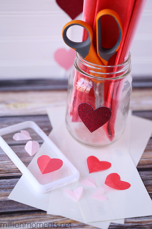 easy valentine craft - simple and costs under $5!