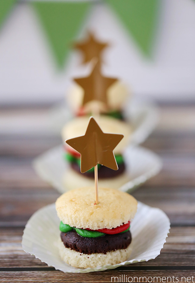 burger shaped cupcakes for parties