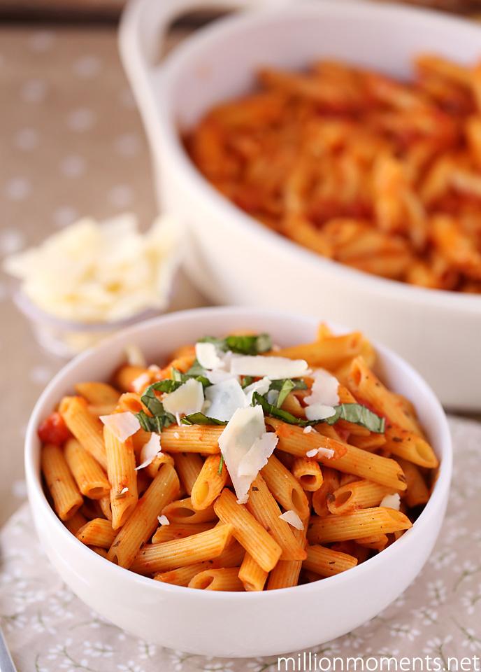 Easy Valentine's Dinner pasta #Valentines4All #shop #cbias
