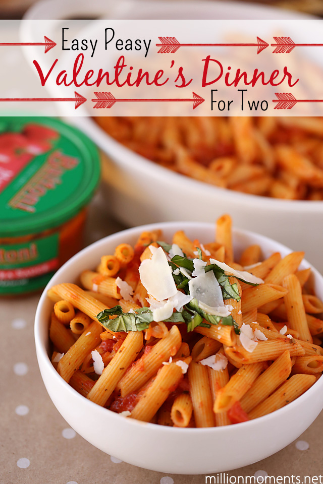 Easy Valentine's Day romantic dinner ideas #Valentines4All #shop #cbias