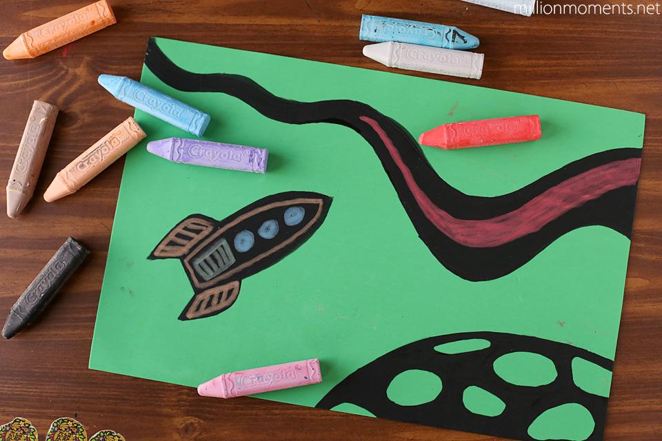 Fun sidewalk chalk crafts with Crayola #colorfulcreations #shop