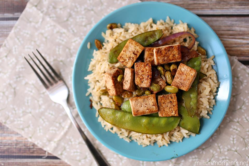 Easy Tofu Teryaki #LoveHealthyMe