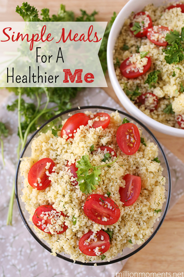 Simple Start to a healthy me with easy veggie couscous #LoveHealthyMe