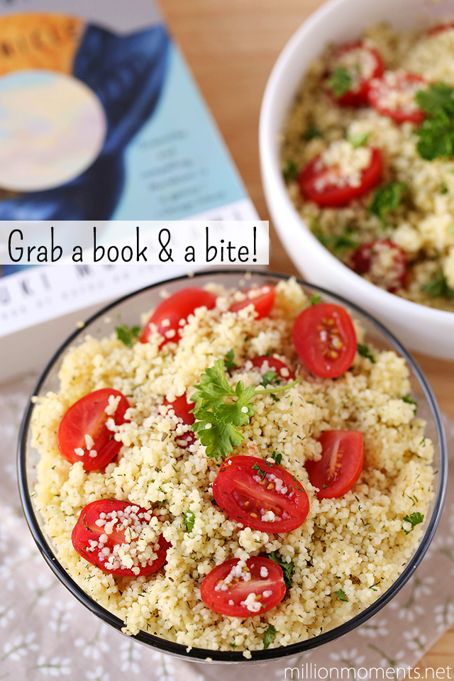 Simple and delicious veggie couscous recipe #LoveHealthyMe