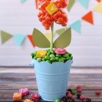 Get Ready For Springtime With A DIY Candy Flower Pot
