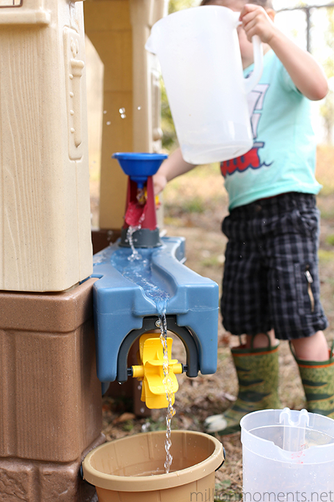 Fun water play from Step2