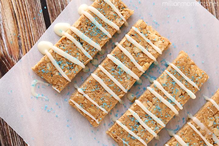 Blue Pixie Dust Granola Bars For Kids #shop