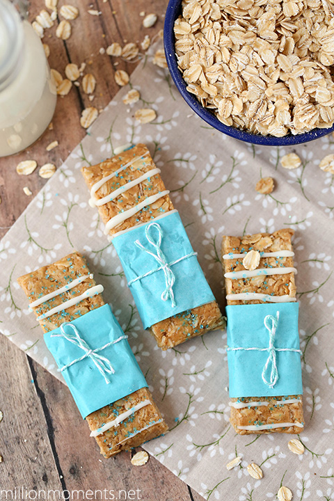 Easy peanut butter granola bars #shop