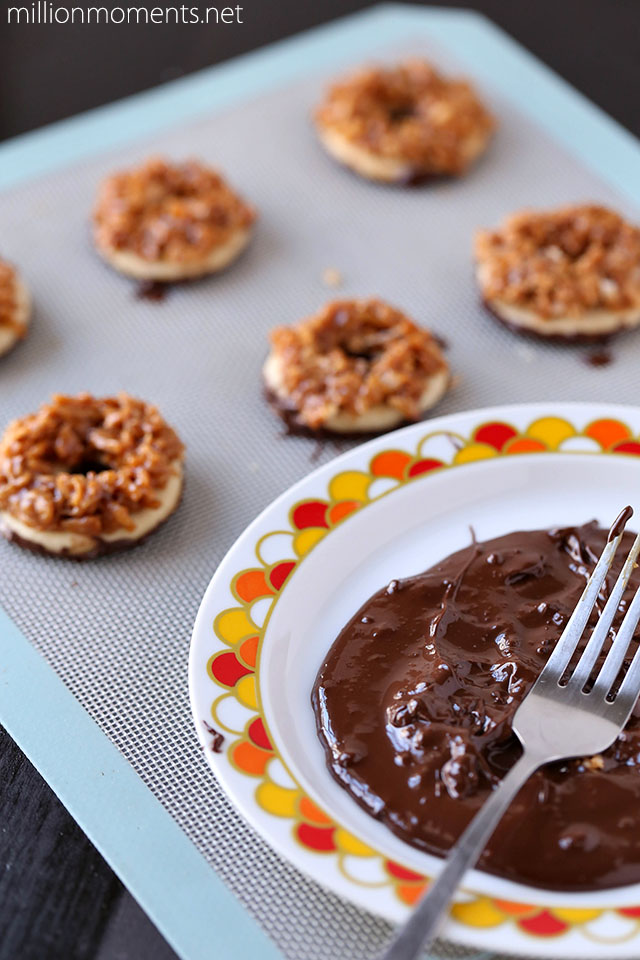 Just like Samoa Girl Scout cookie recipe