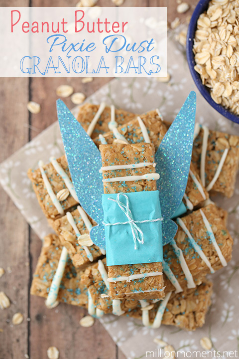 Blue Pixie Dust Granola Bars For Kids #shop