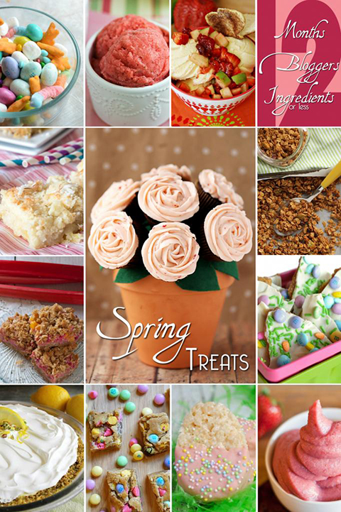#12Bloggers April Recipe Challenge