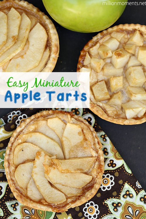 Easy Mini Apple Tarts #12bloggers