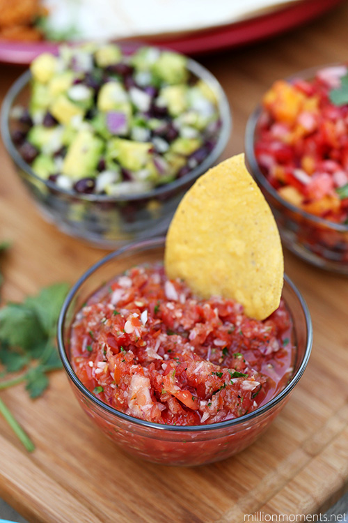 Classic tomato salsa recipe #shop