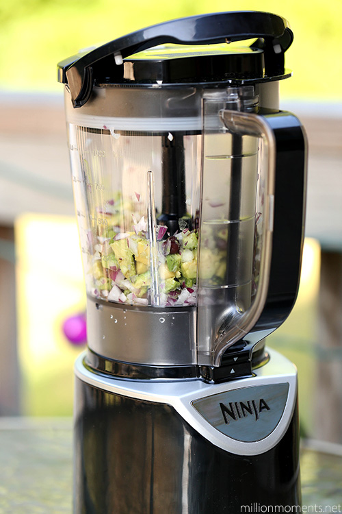Making salsa with the Ninja blender. #shop