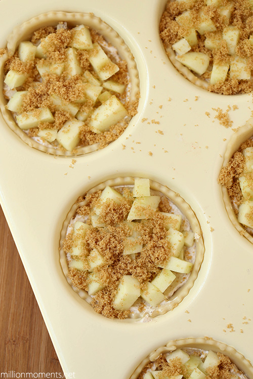 Simple apple tarts are a great summer treat!