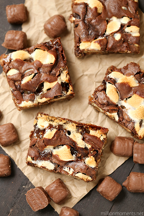 Easy TWIX s'mores bars recipe for Father's Day #shop