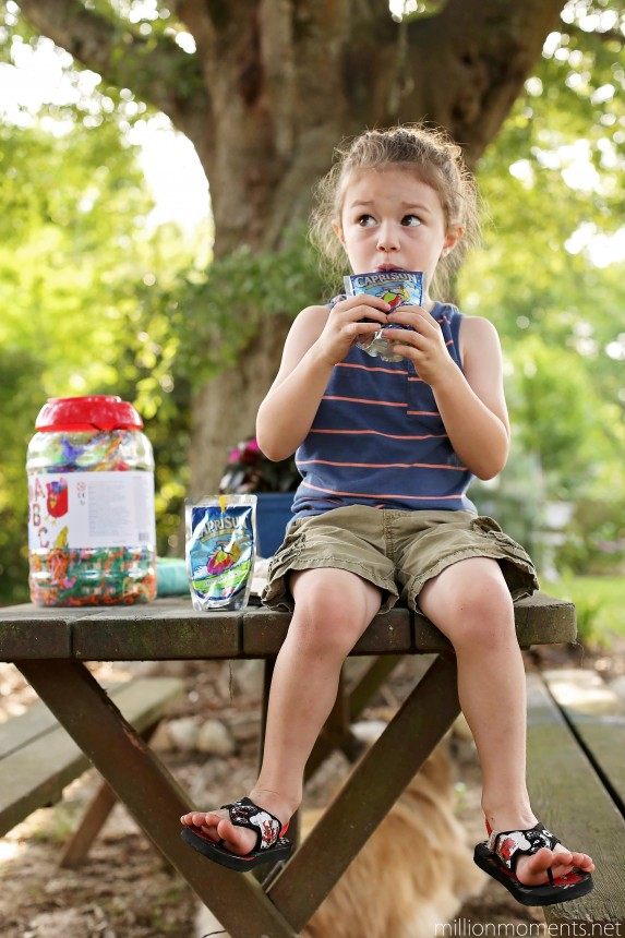 Capri Sun is great for kids on the go!